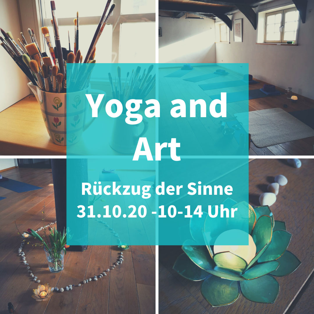 Yoga and Art fällt aus